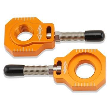 Bolt MC Hardware Chain Adjuster Block - Orange CHADKTMOR