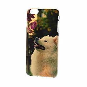 """Highsound Smile Dog Image Back Hard Case Cover For iPhone6 Plus 5.5"""""""