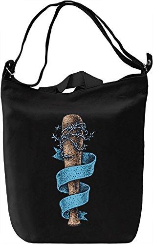 Baseball bat Borsa Giornaliera Canvas Canvas Day Bag| 100% Premium Cotton Canvas| DTG Printing|