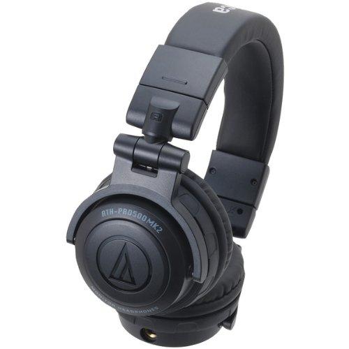AUDIO TECHNICA ATH-PRO500MK2BK Rugged Design DJ Headphone