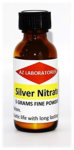 Silver Nitrate Crystals/Powder / 5 Grams/Finest Quality / 99.99% / USA Made/Same Day Ship