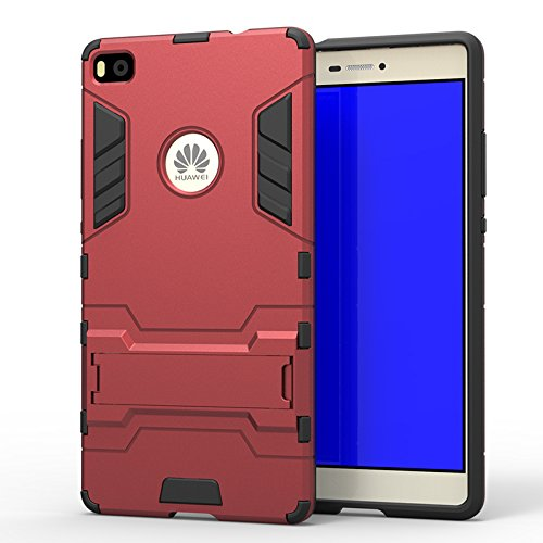 Huawei P8 case,Lizimandu Dual Layer Protective Hybird Armor Case ...