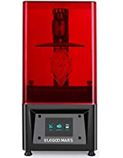 """ELEGOO Mars UV Photocuring LCD 3D Printer with 3.5'' Smart Touch Color Screen Off-line Print 4.72""""(L) x 2.68""""(W) x 6.1""""(H) Printing Size"""