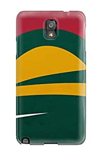 Galaxy Note 3 Hard Back With Bumper Silicone Gel Tpu Case Cover Minnesota Wild Hockey Nhl (66)