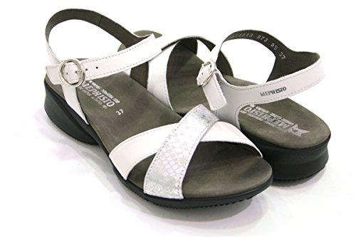 Damenmode Mephisto Weiß Weiß Sandalen Damenmode Mephisto Sandalen 0qBZaRSx