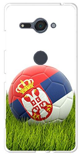 BIPOP CASE Carcasa balón fútbol Copa Mundial Serbia Sony Xperia ...