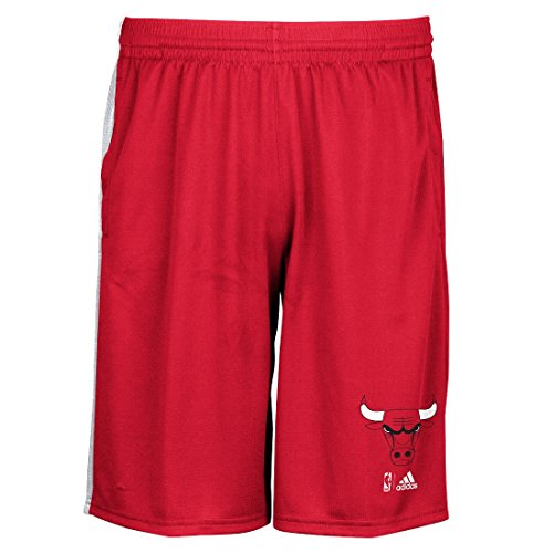 NBA Chicago Bulls Men's Tip-Off Knit Shorts, X-Large, Red