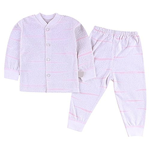 Price comparison product image pinnacleT1 Baby Pajamas Newborn Baby Boys and Girls Long-Sleeved Cotton Suit Autumn and Winter