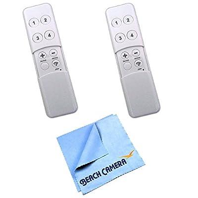 Aeon Labs DSA03202-V1 - Z-Wave Minimote 2-Pack Bundle includes Z-Wave Minimote 2-Pack and Beach Camera Microfiber Cloth