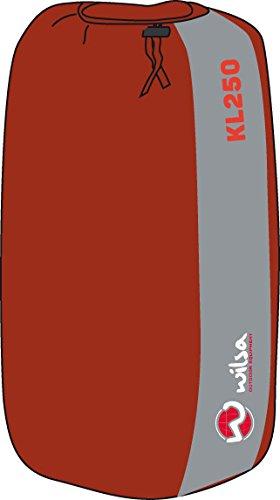 Wilsa Outdoor Saco de Dormir de plumón 5 ° Momia 215 x 80 cm Rojo ...