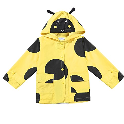 Toddler Printed Lightweight Single Jacket Waterproof