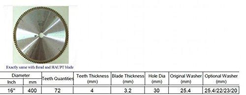 GOWE 16'' 72 teeth WOOD t.c.t circular saw blade | 400MM CARBIDE cutting wheel 1