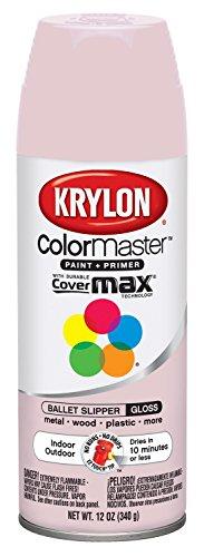 Krylon K05353402 Ballet Slipper Interior and Exterior Decorator Paint - 12 oz. Aerosol (Paint For Wicker Furniture For Outdoor)
