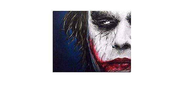 Dirart Sin Marco Joker Diy Pintura Digital Por Números Pintura ...