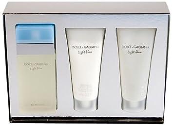 763021b0f537 Amazon.com   Light Blue by Dolce Gabbana 3 Piece Gift Set