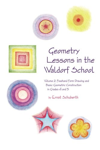 Geometry Lessons in the Waldorf School Grades 4 & 5: Freehand Form Drawing and Basic Geometric Construction in Grades 4 and 5 (Math in the Waldorf Elementary School Curriculum) (Volume 2)]()