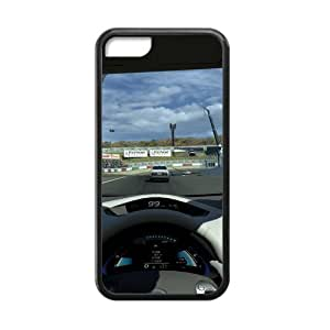 Racing Racer Final Sprint Win Iphone 5c Case Shell Cover (Laser Technology)