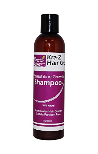 Oil Oily Hair Normalizing Shampoo - Nzuri Kra-Z Hair Gro Stimulating Growth Shampoo - 8oz