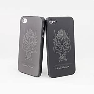 SHOUJIKE Dragon Tattoo PC Soft Case for iPhone 4/4S