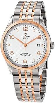 Tudor 1926 Automatic Silver Diamond Dial Men's 39 mm Watch