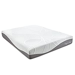 UltraPlush Gel-Max Memory Foam Mattress by Perfect Cloud (Twin) - 10-inches Tall - Featuring New Visco Gel Cool Design So You'll Sleep Comfortably All Night