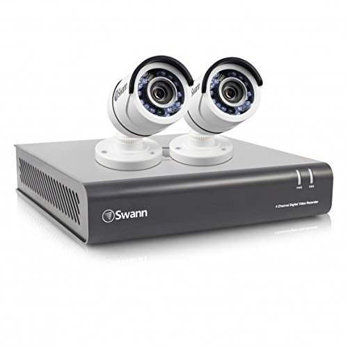 Swann swdvk 445502 uk 4 channel security system and 2 cameras with swann swdvk 445502 uk 4 channel security system and 2 cameras with 1tb solutioingenieria Choice Image