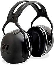 3M Peltor X-Series Protectores supraauriculares, NRR 31 dB, una talla, se ajusta a la mayoría, negro X5A (Paq
