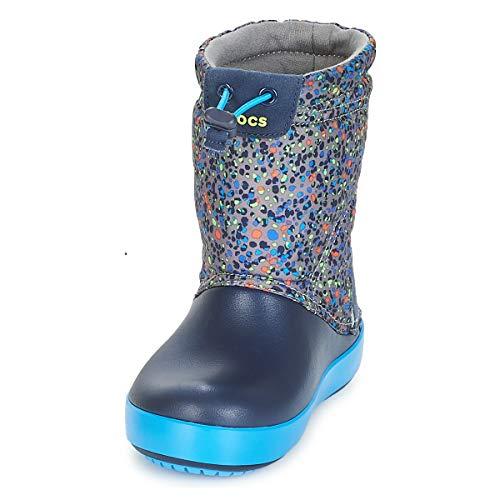 30 31 Da Crocband Neve blu Grigio K Graphic Stivali Lodgepoint Crocs Bambino UTqw81