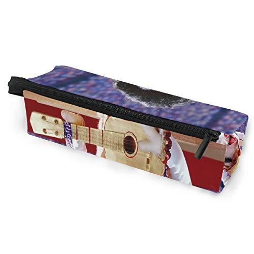 Musical Pig Glasses Case Zipper Soft Sunglasses Ball Pen Bag Protective Box ()
