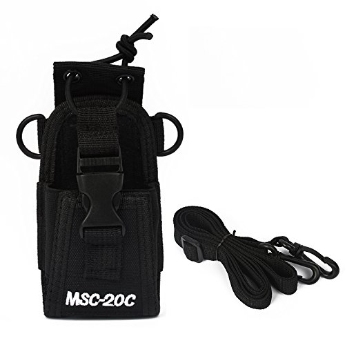 Two Way Radio Pouch Case Holster MSC-20C ()