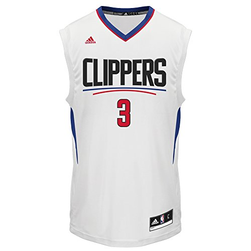 NBA Men's Los Angeles Clippers Chris Paul Replica Player Home Jersey, X-Large, White - Nba Player Jersey
