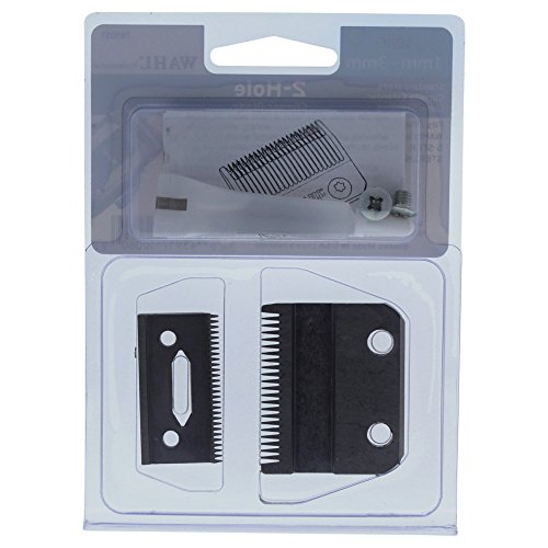 (Wahl Professional 1mm – 3mm 2 Hold Clipper Blade # 1006 – Great for Professional Stylists and Barbers - Includes Oil and Screws)