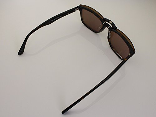 659a167f0fa2c ... cheapest custom fit polarized clip on sunglasses for ray ban rb5279  55x18 brown. loading images