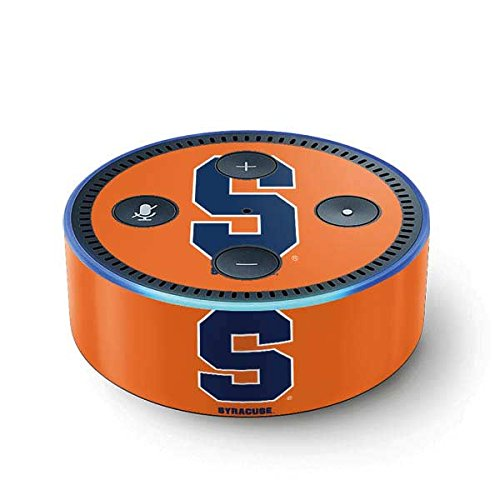 Syracuse University Echo Dot (2nd Gen, 2016) Skin - Syracuse Orange Vinyl Decal Skin For Your Echo Dot (2nd Gen, 2016) (Syracuse Players University)