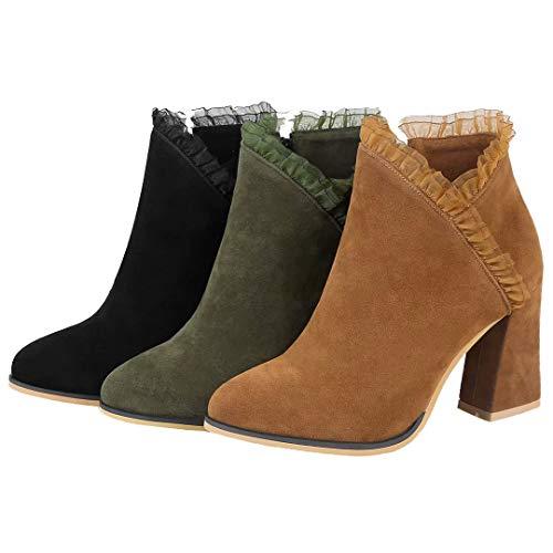 Brown AIYOUMEI AIYOUMEI Women's Women's Classic Boot Brown Boot Classic AIYOUMEI Women's Boot Classic 7qp8w1p