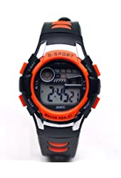 Sinceda Unisex Children Multi Function Luminous Analog Digital Electronic LCD Watch