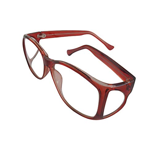 0.75mmPb X-ray Radiation Protection Lead Glasses Medical X Ray Protective Eyewear,Side Protective]()