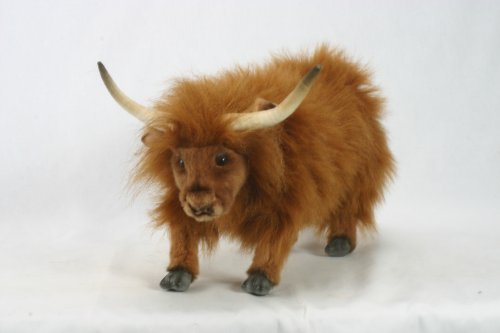 Plush Stuffed Yak By Hansa 19 by Hansa