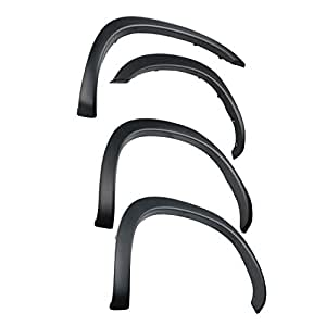 Tyger Auto TG-FF6D4198 for 2002-2008 Dodge Ram 1500; 2003-2009 Ram 2500 (ONLY 6.5' Truck Bed), Fine-Textured Matte Black OE Style Fender Flare