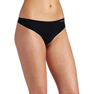 Calvin Klein Women's Invisibles Line Thong Panty