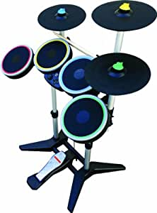 Rock Band 3 Wireless Pro Drums and Cymbal Pack (Wii) [Importación inglesa]