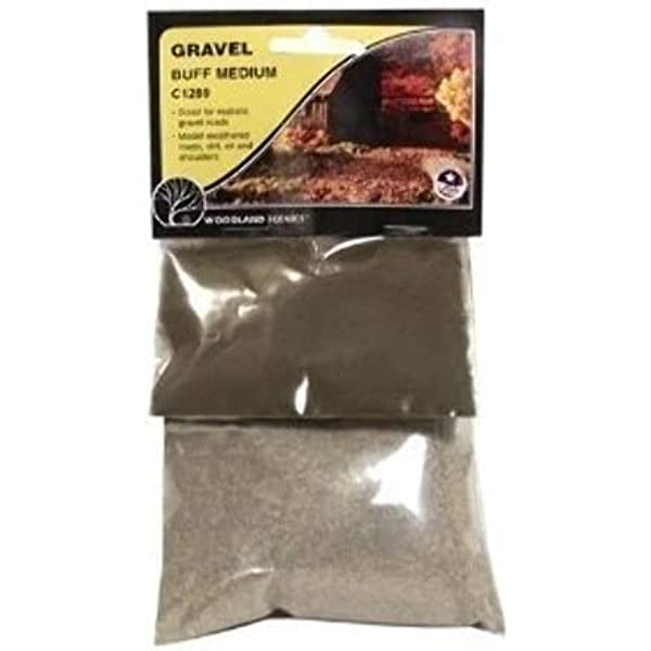 Woodland Scenics Gravel 3.6 Cubic Inches SP4190 for sale online