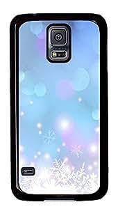 Samsung Galaxy S5 Snow dream PC Custom Samsung Galaxy S5 Case Cover Black