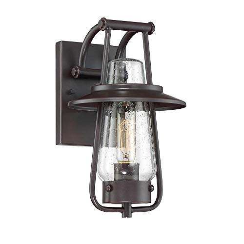 Designers Fountain 32021-SB Wall Lantern, Satin Bronze