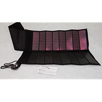 PowerFilm 13 Watt Foldable Solar Panel with USB Adapter