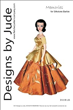 Going Shopping Dress Pattern for Silkstone Barbie