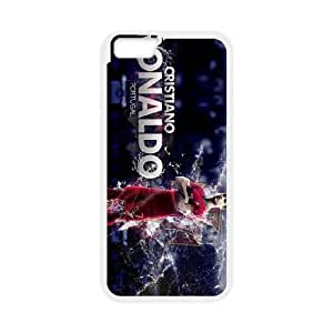 Cristiano Ronaldo iPhone 6 Plus 5.5 Inch Cell Phone Case White gift pp001_9454666