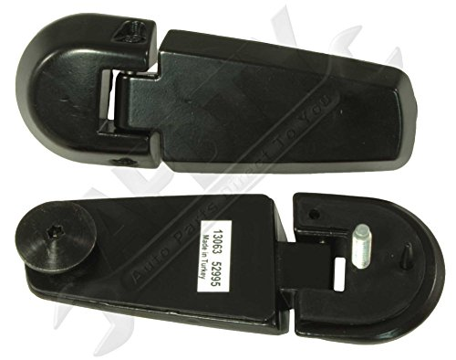 Apdty 035271 exterior rear window glass hatch hinge set for 1998 ford explorer rear window hinge