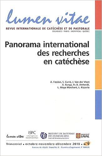 Téléchargement gratuit du livre de codes du domaine public Lumen Vitae, Volume 65 N° 4, Octo : Panorama international des recherches en catéchèse en français FB2