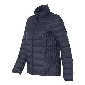 Weatherproof 32 Degrees Women's Packable Down Jacket, Classic Navy, L